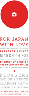 Bloggers Day of Silence – for Japan