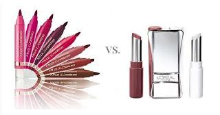 Długotrwały efekt na ustach, czyli L'Oreal, Infallible Lip Color vs Astor, Perfect Stay Lip Tint