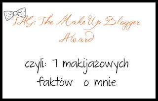 The Make Up Blogger Award