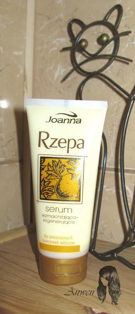 Recenzje kosmetyków cz. XVIII – Joanna, Maseczka z makiem i bawełną oraz Serum wzmacniająco – regenerujące Rzepa