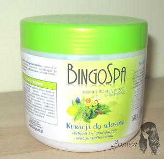 Recenzje kosmetyków cz. XXVI – Maska BingoSpa – Ponad 40 składników aktywnych