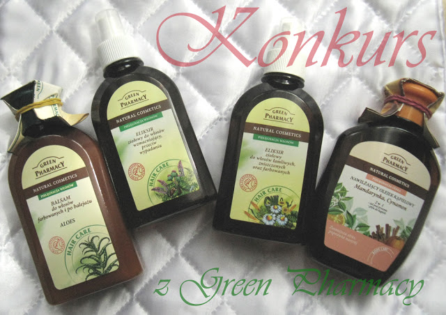Konkurs z Green Pharmacy