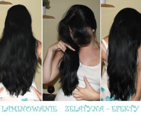 Laminowanie włosów żelatyną – moje wrażenia i efekty