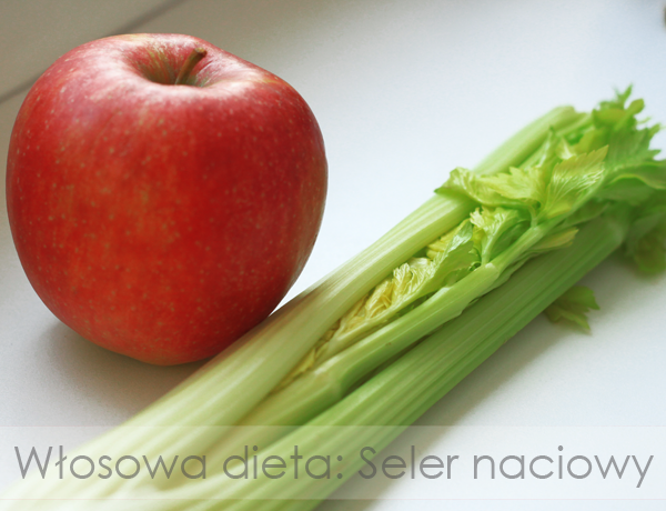 Włosowa dieta: Seler naciowy