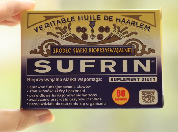 Suplementy: Sufrin