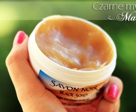 Prawdziwe czarne mydło – Savon Noir z Maroka