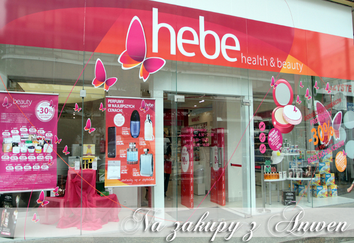 Na zakupy z Anwen: Hebe