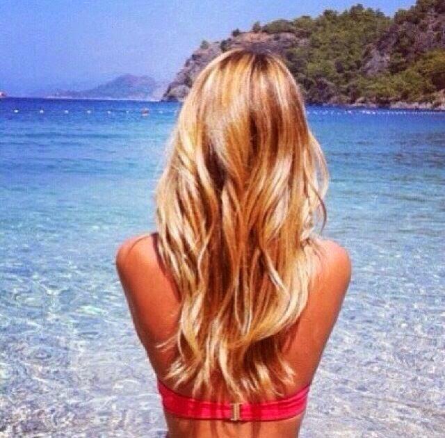 DIY: mgiełka rozjaśniająca włosy