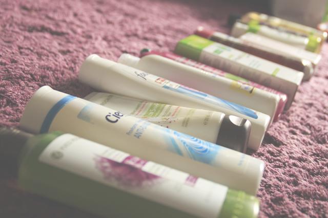 Moje szampony i o tym jak zminimalizować swoją kolekcję kosmetyków