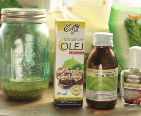 DIY: ziołowy olej przyspieszający wzrost włosów