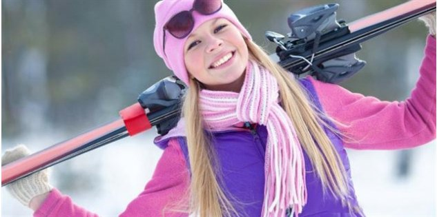 Jak dbać o włosy na nartach?