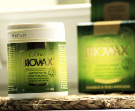 Zielona moc emolientów czyli o masce Biovax Bambus i Olej avocado