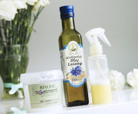 Najlepsze serum olejowe w sprayu + mój schemat pielęgnacji włosów