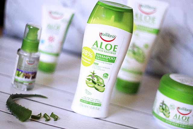 Aloesowa miłość – szampon i żel Equilibra
