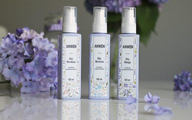Oleje dopasowane do porowatości i mgiełka z filtrami UV czyli nowości od Anwen