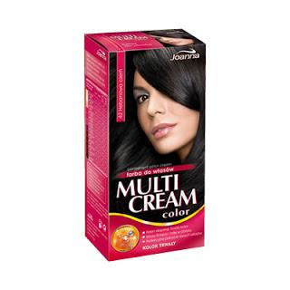 Recenzje kosmetyków cz. I – Joanna, Multi Cream Color, Krem trwale koloryzujący