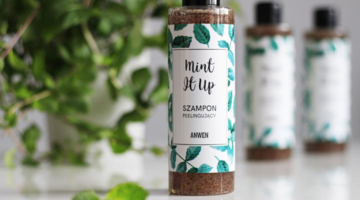 Mint It Up bajecznie miętowy szampon peelingujący Anwen